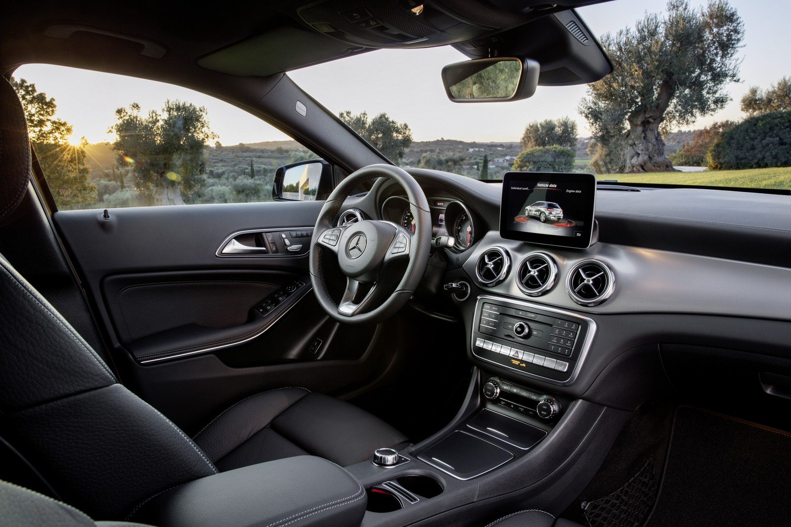 Mercedes GLA 180 Interior